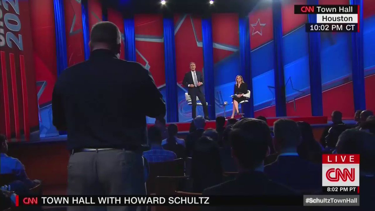 "Howard Schultz says he wants to confiscate semi-automatic firearms from law-abiding Americans:  ""What I believe is that there should be some sensible approach to removing"" semi-automatic firearms.  Schultz says criminals shouldn't be allowed to own guns…that's already the law."