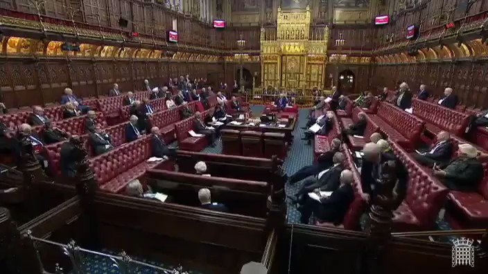 """""""It is difficult not to be genuinely angry at what the British state is about to inflict upon the British public."""" My speech in the House of Lords on No Deal."""