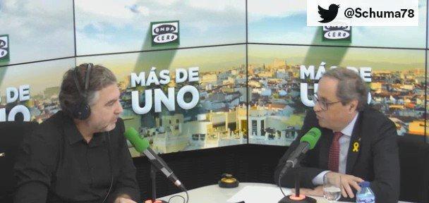 🎥¡BRUTAL!: Así ha desmontado Carlos Alsina a Quim Torra en 1 minuto...