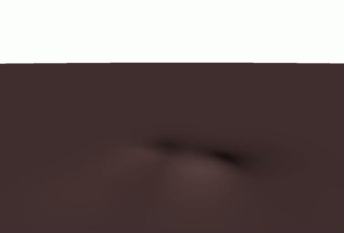 メンガーのスポンジをチョコレート風に