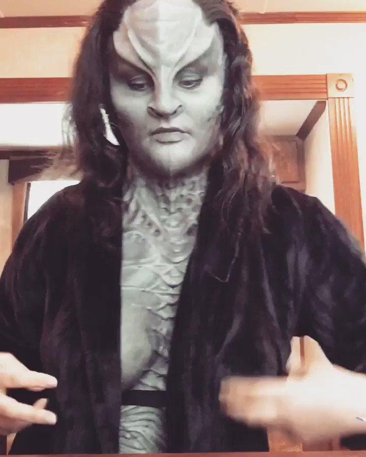 Uma Klingon vegana? Absurdo...!