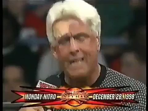 This @RicFlairNatrBoy promo will forever be legendary! 🤣