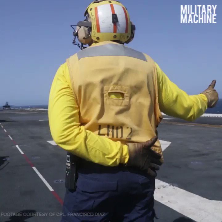 Moments before launching off the flight deck of USS Essex utilizing advanced STOVL technology, these F-35B pilots are calm, cool, and collected. #MilitaryMachine  Subscribe! Enjoy more awesome, HD content than this over on our YouTube page. Click here: https://youtu.be/jMmRLSTl7yE
