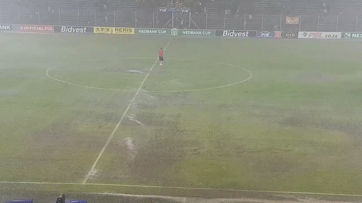 EXTRA TIME: Watch Dylan Kerr brave the rain to applaud Black Leopards fans