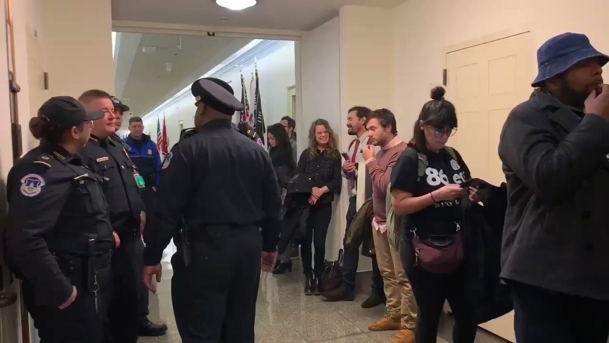 .@SpeakerPelosi refused to meet with angel families today & sent Capitol Hill Police. They had a bag of orange zip ties to arrest us if we didn't leave. All we were asking for was for her to listen. #BuildTheWall #AngelFamilies #Immigration #MAGA #KAG @realDonaldTrump