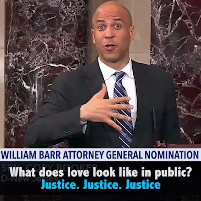 In this moment in history, during this crisis of conscience, I don't believe William Barr will lead the fight to protect our most vulnerable rights & communities. I do not believe he will fight for equal justice under law. He does NOT have my vote to be the next Attorney General.