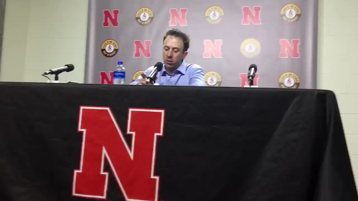 """Richard Pitino simply says the way the game ended """"stinks"""" without going into specifics about the foul call on Coffey. He said this was the most disappointing loss of his career. #Gophers"""