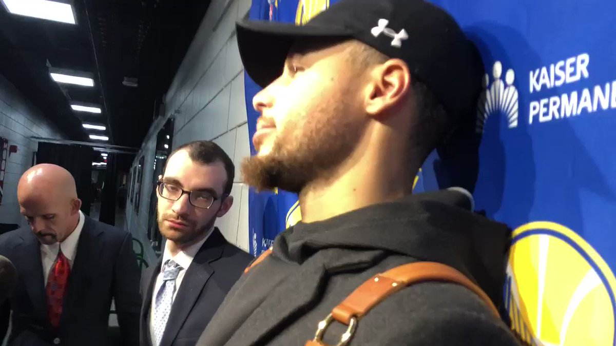 Steph Curry addresses the state of the Warriors heading into the All-Star break