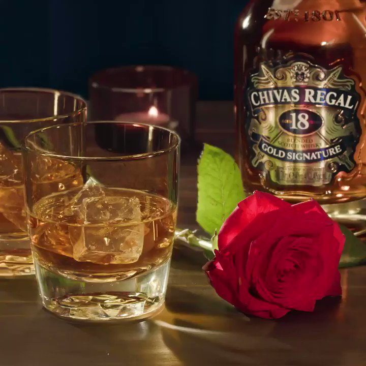With 85 flavour notes in a bottle, some may say true love is complicated. Happy Valentine's! #Chivas18 https://t.co/1KZgHc2fAd