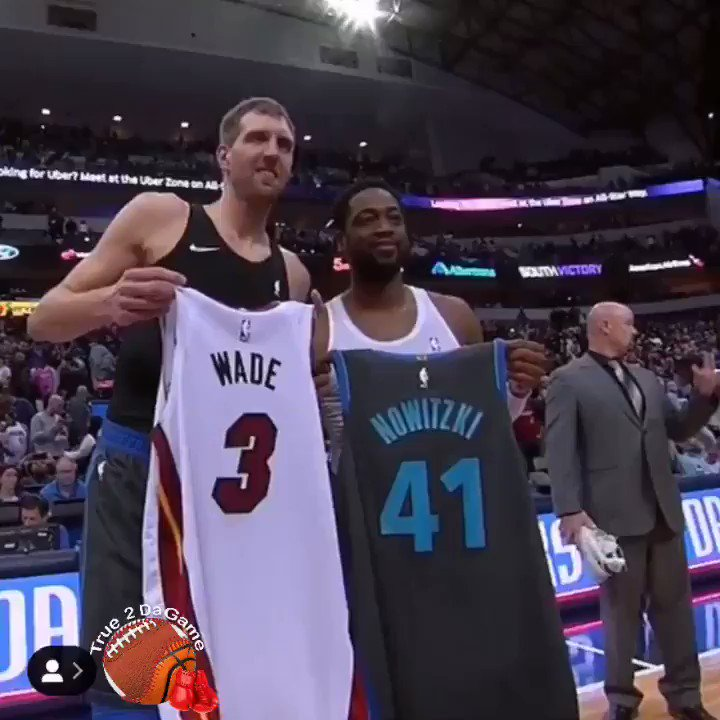 TWO LEGENDS showing love💞 #DALvsMIA #MFFL⁠ ⁠ #HEATCulture⁠ ⁠ #NBA⁠ ⁠ #NBAonESPN #NBAAllStar⁠ ⁠ (via @NBA )  http://true2dagame.com/nbabasketball