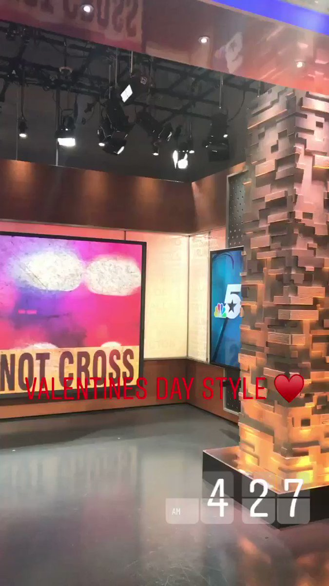 HAPPY VALENTINE'S DAY!♥️  Who's up watching @NBCDFW TODAY?!