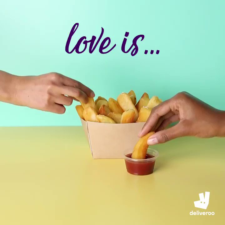 Love a freebie? Stay in this Valentine's Day with a free dessert on us. Feed the love.