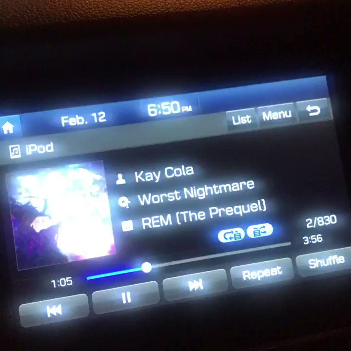 @KayCola my vibes on my way to watch the #CelticsvsSixers hoping she not gonna make me have my #worstnightmare