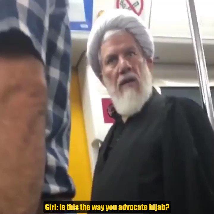 I Iran börjar folk få nog med fanatiker som anser att kvinnor bör skyla sig - kom ihåg att även bland islamister anses barnslöja vara överdrivet.  I Sverige ger vi folk sparken för att de anser att deras organisationer inte ska normalisera barnslöjor.