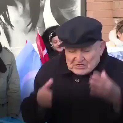 """""""I have never seen any human being, even animals, suffer as much oppression as we have.""""  -90 year old Uyghur man describes China's ethnic cleansing of Uyghur Muslims in East Turkestan."""