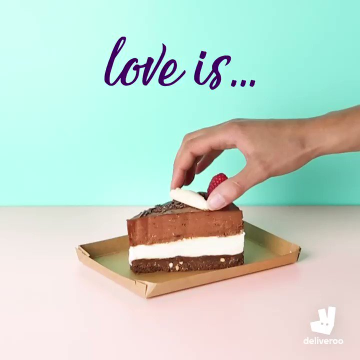 Love a freebie? Order today and get dessert on us this Valentine's. Feed the love.