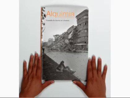 Image for the Tweet beginning: #RevistaAlquimia número 63. Cuando la