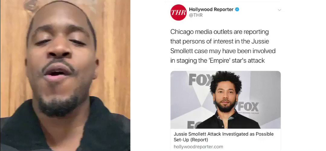 BREAKING NEWS! Chicago Police has reason to believe actor Jussie Smollett lied about Trump Supporters attacking him at 2am with rope & bleach in freezing weather while yelling MAGA Country   * RETWEET if you are laughing with me and knew it was a lie!