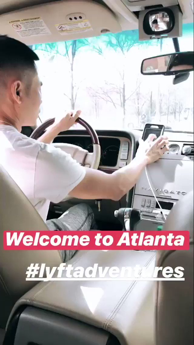 Lmao Uber in Atlanta different different 😂 this is the most Gangsta response I have ever heard 😭