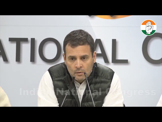 We stand with our jawans today, tomorrow and forever.  Watch & share this video with highlights of our Press Conference on the attack on our jawans.