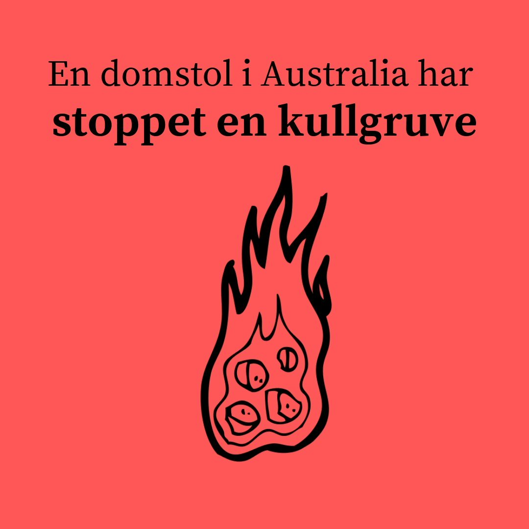 Image for the Tweet beginning: Denne klimadommen gikk oss hus