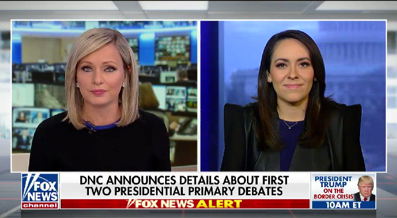 WATCH: @SandraSmithFox spoke with @XochitlHinojosa about the DNC in the 2020 presidential race #nine2noon