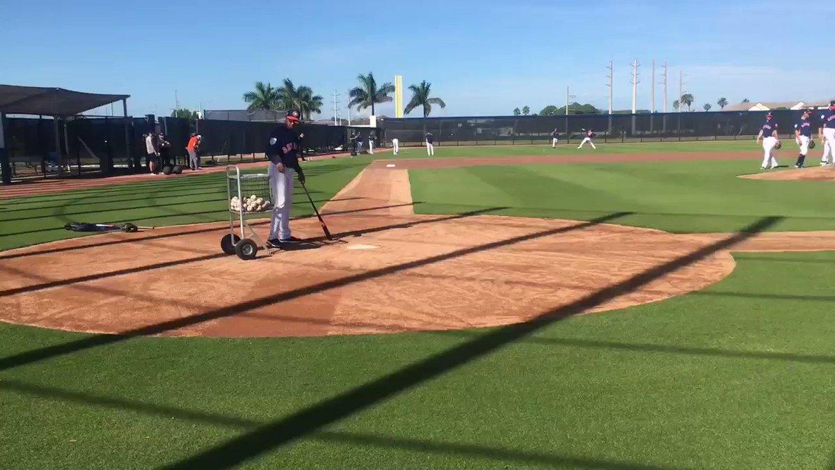 .@ForrestWhitley at #Astros Spring Training