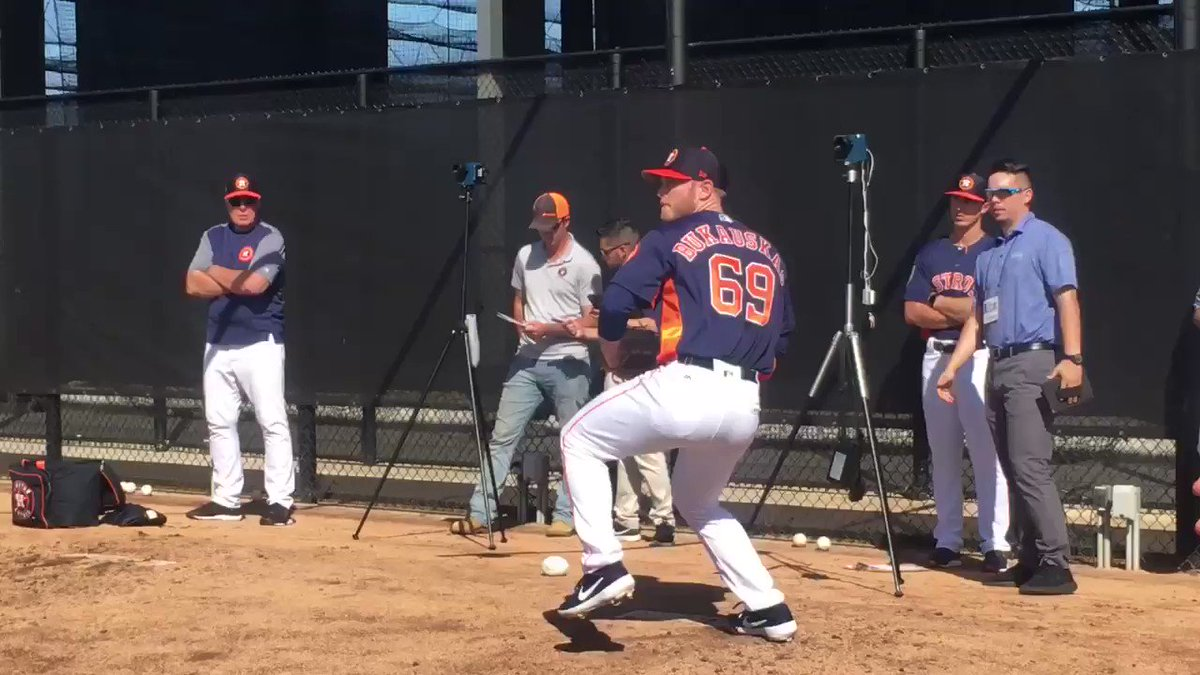 JB Bukauskas (@JBukauskas22) on the mound at #Astros Spring Training