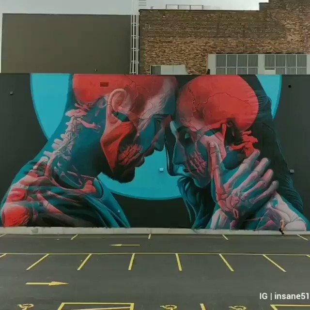 Los artistas callejeros están locos!