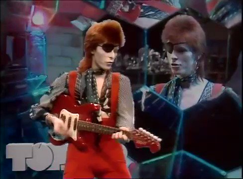 """45 years ago today, David Bowie released the single """"Rebel Rebel"""""""