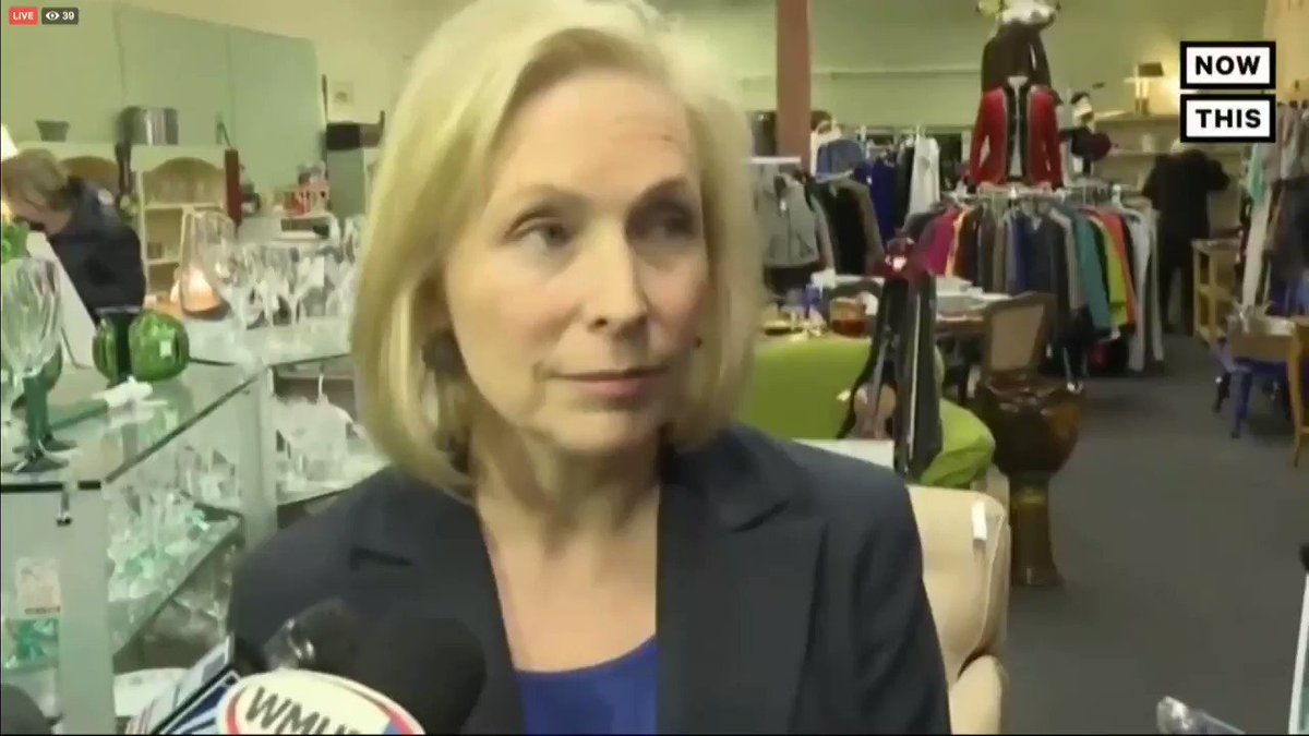 "Kirsten Gillibrand says she ""could support"" tearing down border barriers, fully embracing the open borders agenda.   She even says abolishing ICE is Dems' #1 priority.  Not that long ago, she voted to build 700 miles of barrier.  Now she's just extreme."