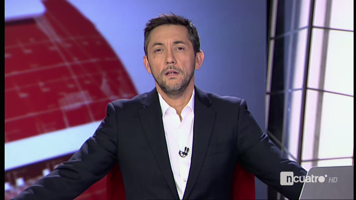 La muerte de Noticias Cuatro.  Ultimos segundos con Javier Ruiz.