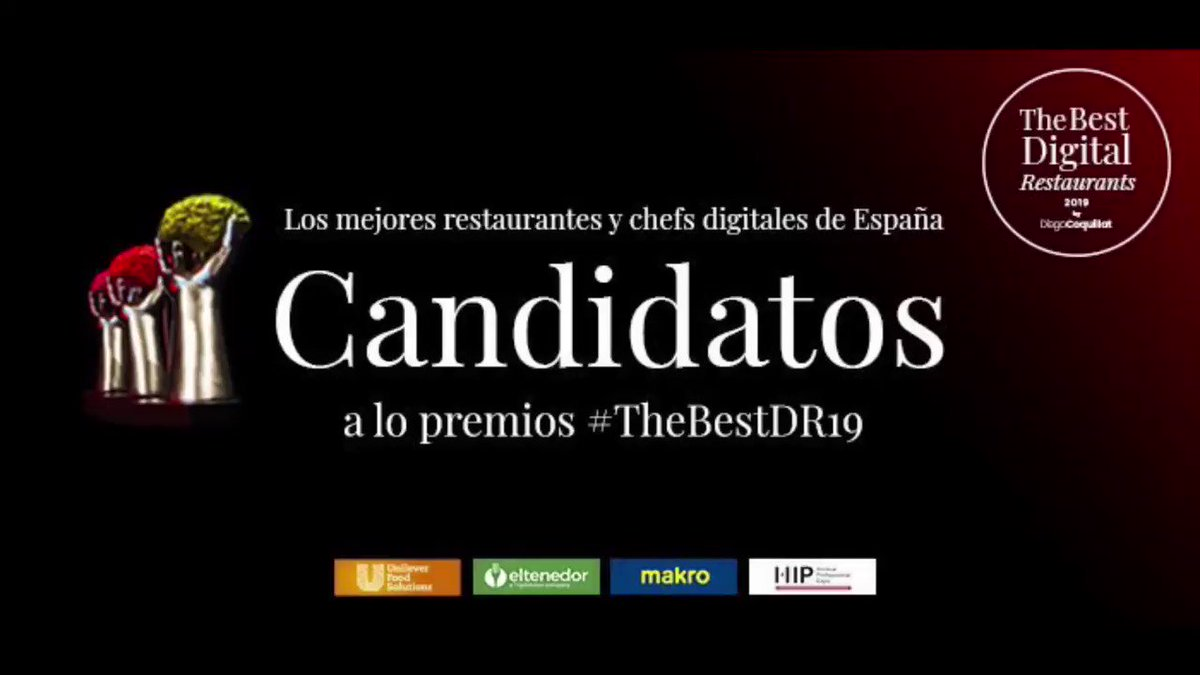 Image for the Tweet beginning: Los Candidatos al Premio 🏆