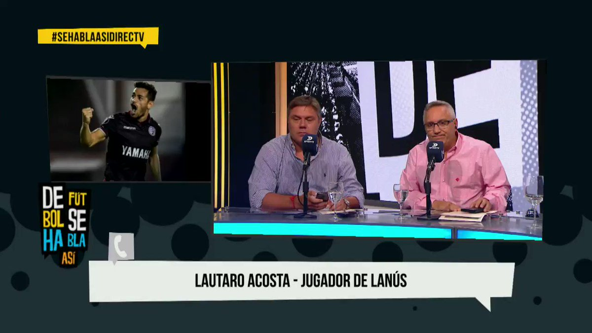 De Fútbol Se Habla Así's photo on Almiron