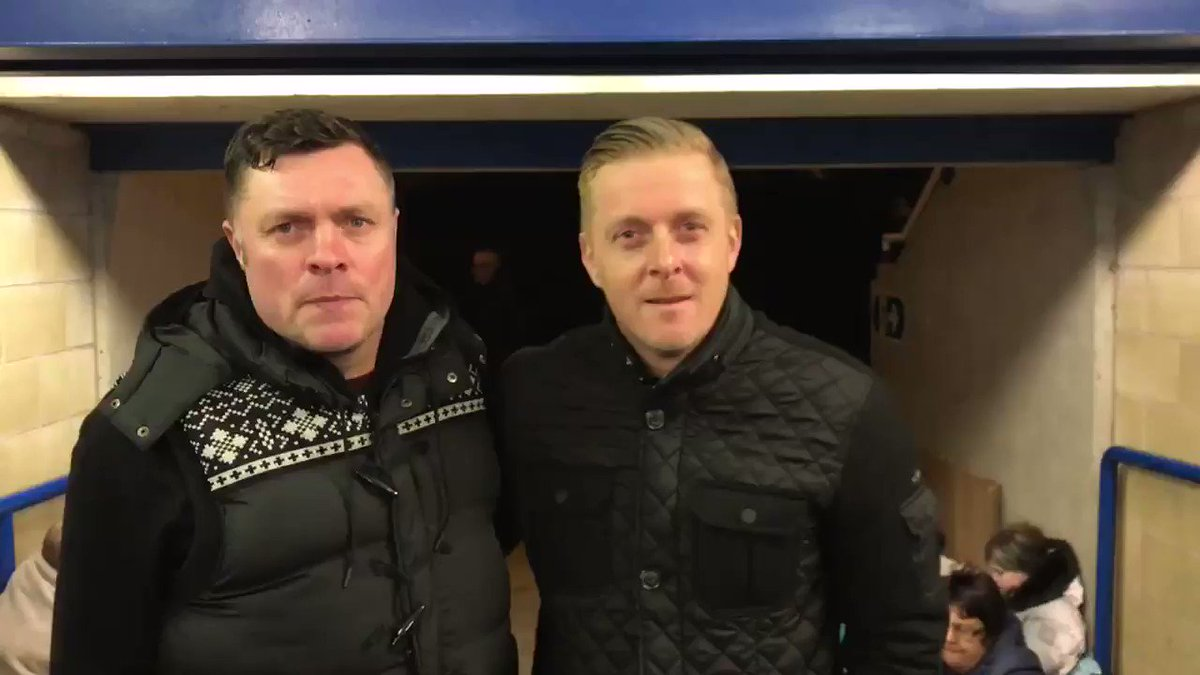 """🗣 """"It's all about creating awareness and supporting the homeless in Birmingham.""""  @GarryMonk discusses why he is here tonight and why the Club is backing the @Geoff_Hors_Foun. 💯  #BCFC"""