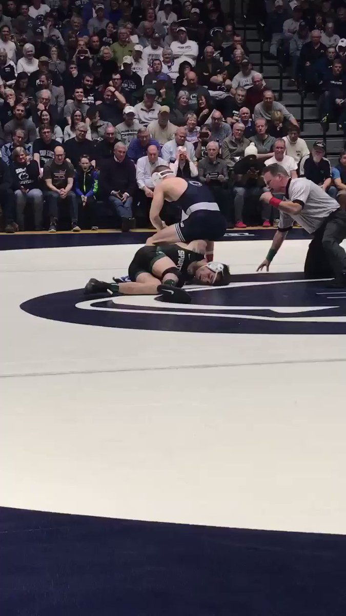 RT @pennstateWREST: Take a look at Nolf's pin! https://t.co/SEgO6n8vOa