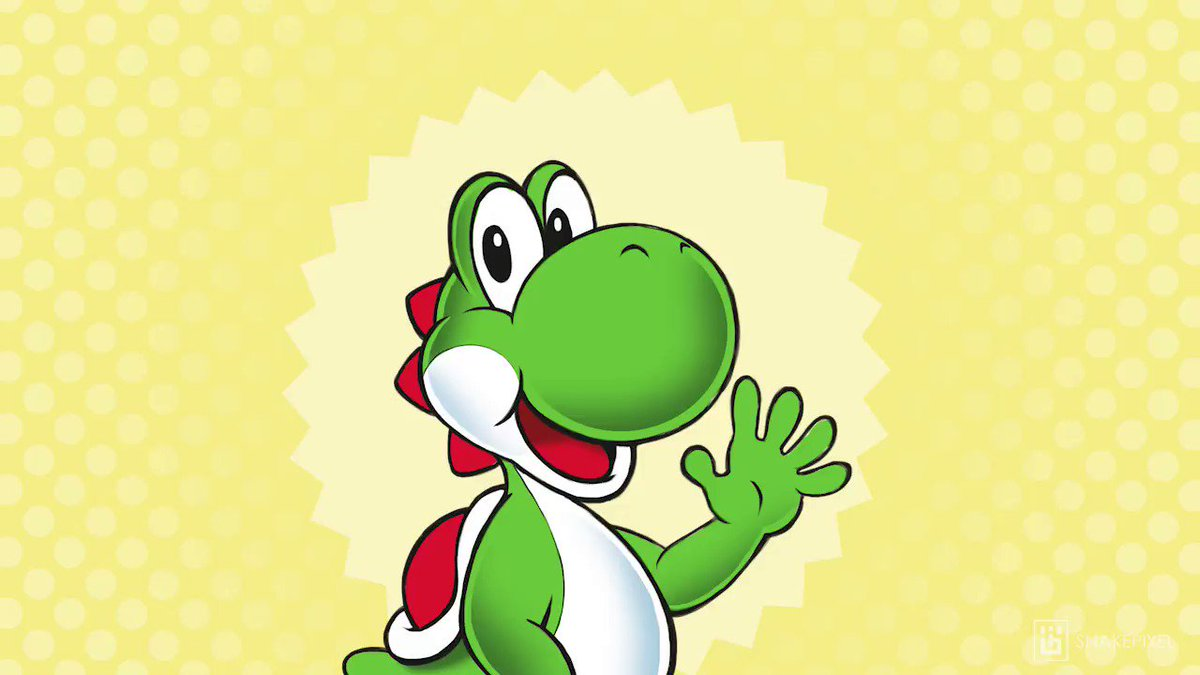 Yoshi sounds really different when you slow his voice down...