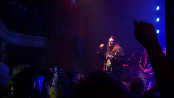 .@TheGloriousSons sounded incredible tonight at @johnnybrendas... but Philly sounded even better!