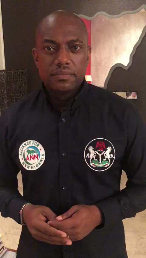 While we may be very disappointed with @inecnigeria preparation for the Presidential elections, we will not be discouraged.  _ We are coming!  _ It's time for the #NewNigeria to emerge #NigeriaDesides2019