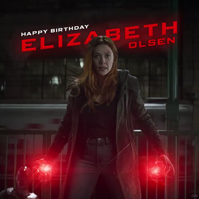 Remember, Scarlet Witch, they haven\t moved on!  Happy Birthday Elizabeth Olsen