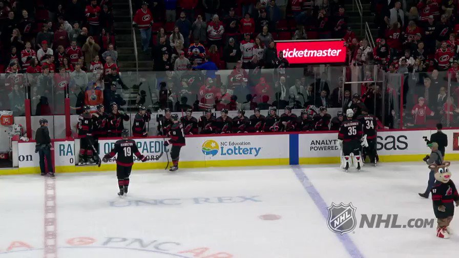 The @NHLCanes really knocked this surge out of the park...