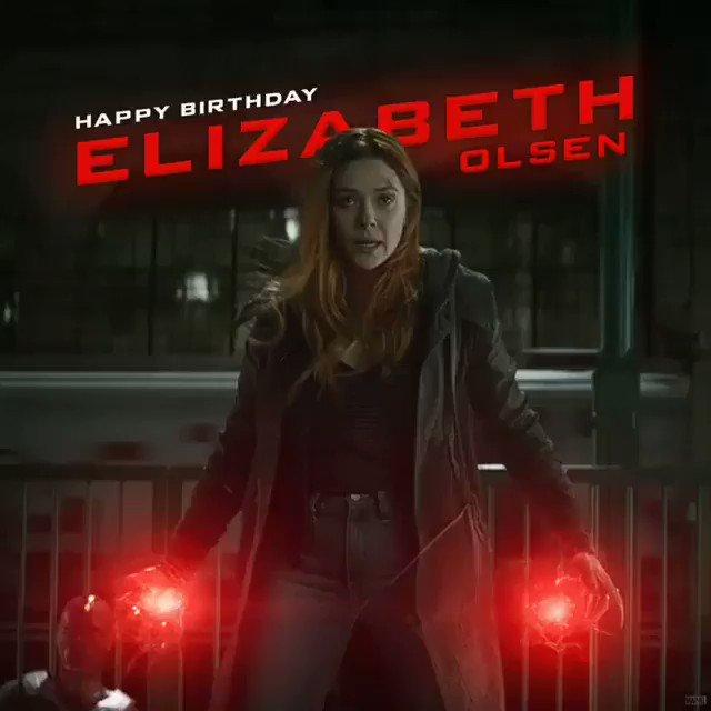 Happy Birthday to Elizabeth Olsen