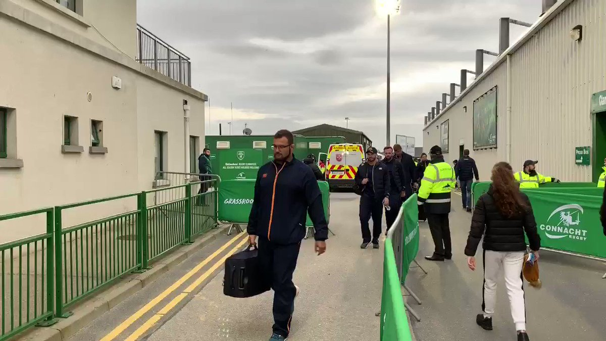 .@CheetahsRugby have arrived 👋 #CONvCHE