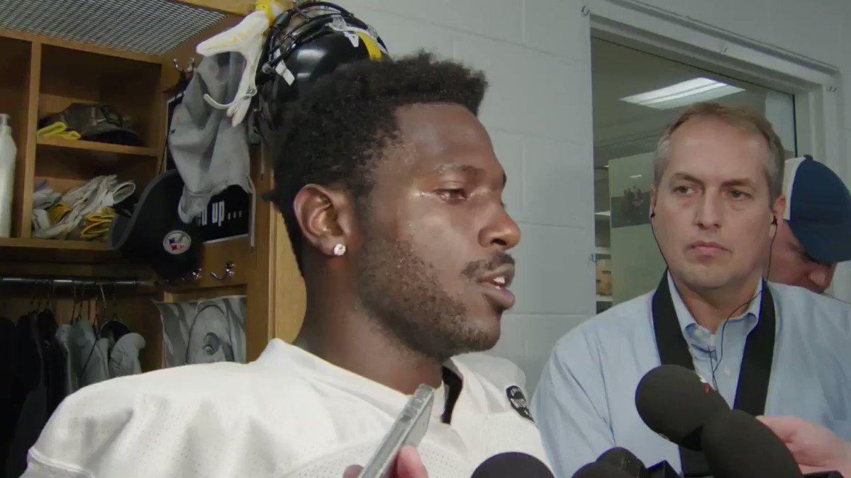 Antonio Brown sounds off on incident with Ben Roethlisberger