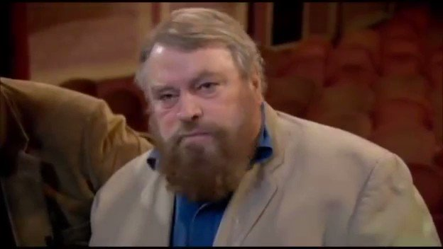 Brian Blessed swearing on live tv is still one of the funniest things I've seen.