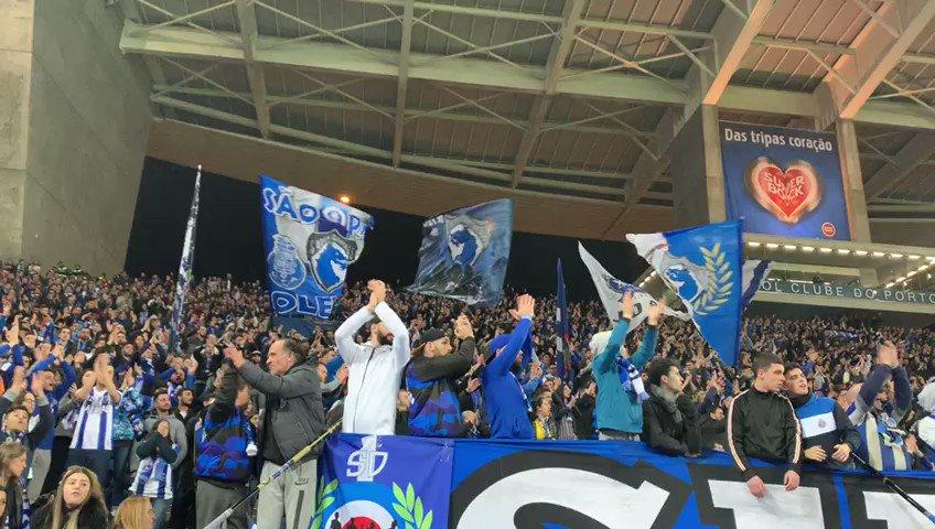 🔵⚪🔊Força FC Porto!  #FCPorto |2-0| #FCPVFC