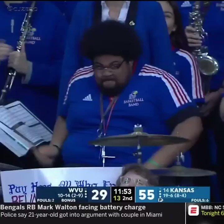 Phenomenal performance from the Kansas drummer