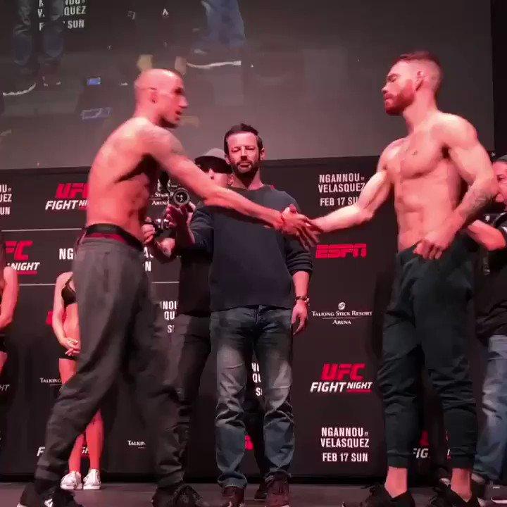 Lightweight Bout: @JamesVickMMA vs. @felderpaul #UFCPhoenix