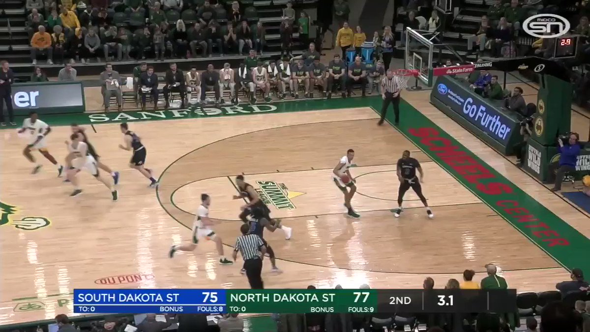 Rivalry matchup on the line... How about a half-court BUZZER-BEATER?! 🚨 @GoJacksMBB