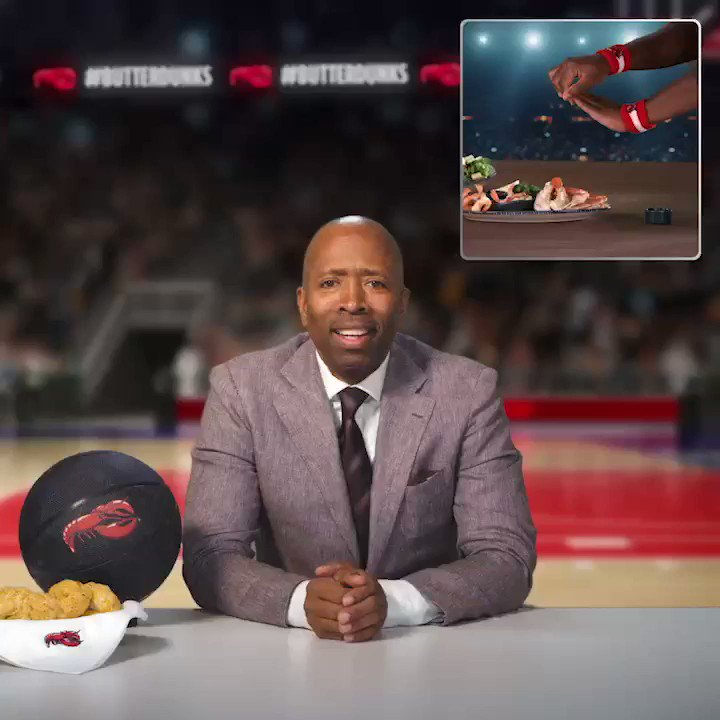 Just when you thought you'd seen the best dunks ever, @redlobster does 'The ButterMill'. Dope. #ButterDunks #Ad
